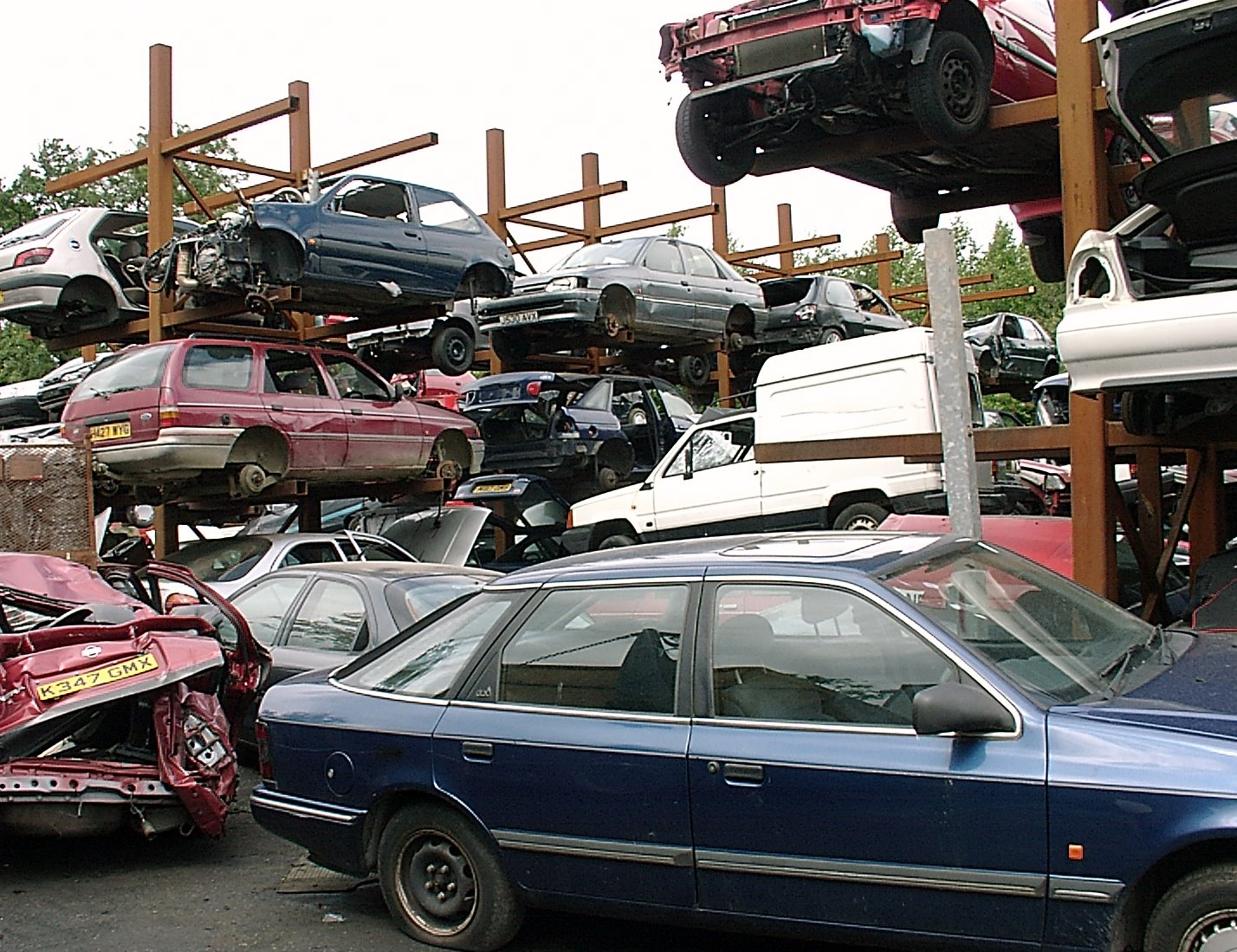What Happens to Your Junk Car After Selling It | Messy Motors